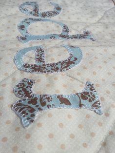 Hand blanket stitch applique | Flickr - Photo Sharing!