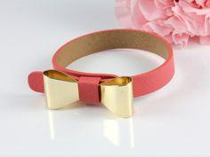 Bow Leather Band from Hello Miss Apple www.hellomissapple.com #bracelet #bangle #accessories #jewelry #hellomissapple