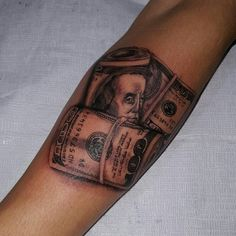 536d149790c57 75+ Best Money Tattoo Designs & Meanings - Get It All (2019) Money