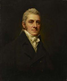 Portrait of Sir Alexander Munro by Sir Henry Raeburn (Scottish 1756-1823)