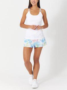 Fila Women's Tie Breaker Skater Skirt Tie Dye Tennis Warehouse, Tennis Wear, Lucky In Love, Overall Shorts, Stylish Outfits, Skater Skirt, Active Wear