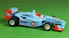AFX Tomy MEGA G GULF OIL Indy Formula 1 Custom Slot Car HO Scale TYCO AW LOT #16