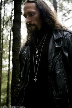 """Gaahl by Peter Beste. One of the smartest human beings. I don't agree with all of his views but I love to listen to him talk. He has a way with words, other than his infamous """".....Satan"""" interview!"""