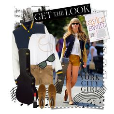 """""""Get the Look: Celebrity Street Style- Taylor Swift"""" by tchance on Polyvore"""