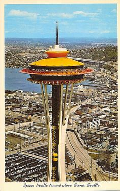 Heard they're repainting the space needle back to its original gold color.