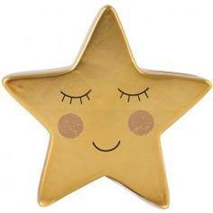 Spaarpot gouden ster, Sass & Belle Keramische spaarpot van een schattige gouden ster van Sass & Belle. #sassandbelle #sassbelle #spaarpot #goud #ster #kinderkamer #engeltjesendraken #leiden