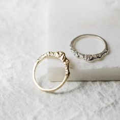 """Mountain Ring (High Version) by Everli #mountainring """"Mountains should be climbed with as little effort as ..."""