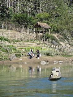 River Crossing - Laos