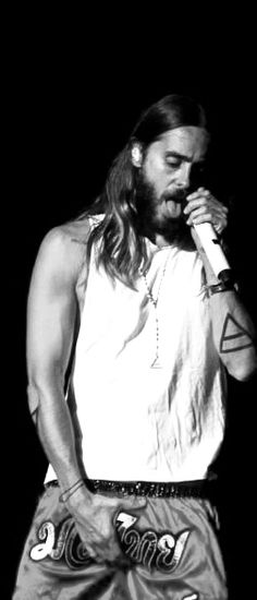 Jared Leto - Again, Jared, really?! We all know you have a big dick! Stop showing off!!! (as I pin it anywayXD)