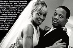 Mary J Blige on marriage