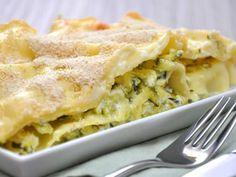 Lasagne allo zafferano con asparagi - Ricetta