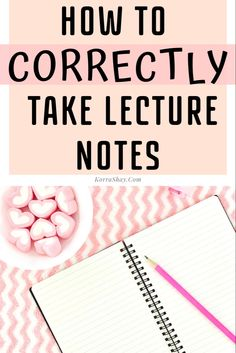 How to correctly take lecture notes! College Note Taking, College Notes, College Guide, College Success, Color Coding Notes, Typed Notes, School Week, Student Motivation, Math Class
