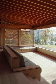 tadashi suga architects office / k house, toyonaka osaka prefecture 菅 匡史 K邸 Craig: built-in seating