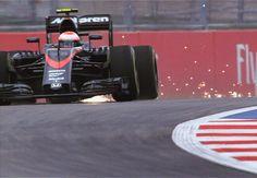 Sparks are flying #RussianGP #McLaren #F1Sochi #Sochi #F1 #Formula1 #JensonButton by f1