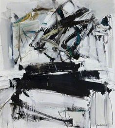 Painting by Joan Mitchell, 1958 Abstract expresionism