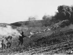 Flamethrowers Ww1 German flamethrower wwi