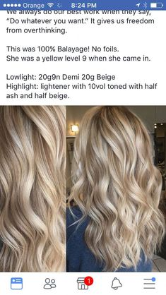 hair Hair Color Highlights Low Lights Ideas Summer 33 Ideas For 2019 Wedding Music: Areas And Aveda Hair Color, Ombre Hair Color, Cool Hair Color, Fall Blonde Hair Color, Blonde Hair For Summer, Blond Hair Colors, Light Hair Colors, Blonde Color Chart, Level 7 Hair Color