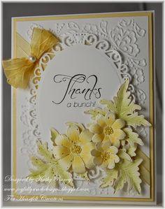 Joyfully Made Designs: Yellow Daisies Gift Set - Heartfelt Creations