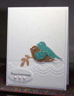 CASING Nancy Littrell FS319 Love Birds by CAKath - Cards and Paper Crafts at Splitcoaststampers