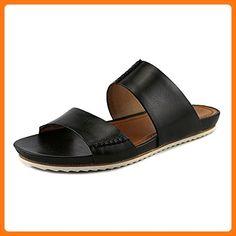 Trask Women's Shea Black Calfskin Sandal 7.5 M (*Partner Link)