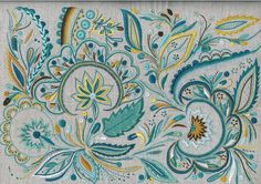 Glazig-mathilde-hamon-quimper-Ecole de Broderie d'Art Pascal Jaouen Embroidery Stitches, Embroidery Patterns, Floral Doodle, Diy And Crafts, Tapestry, Fancy, Crochet, Fabric, Hamon