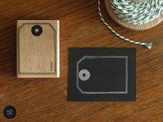 Stempel Etikett: Geschenkanhänger von bastisRIKE