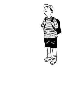 Japanese illustrator Nimura Daisuke creates adorable GIFs and other whimsical drawings that just make our day. His characters experience small everyday adversities, that everyone can. Japan Illustration, Simple Illustration, Character Illustration, Graphic Design Illustration, Graphic Art, Animation, Animated Gifs, Ligne Claire, Photocollage