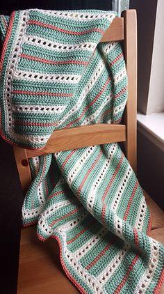 Elegant Squares Baby Blanket - free crochet pattern by Casey Smith.