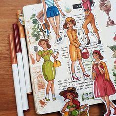 Vandaag leer ik jullie op mijn YouTube kanaal hoe je de CreaChick Vintage Meisjes moet tekenen. Inclusief tips en tricks om zelf ook aan de… Sad Drawings, Couple Drawings, Disney Drawings, Animal Drawings, Drawing Poses, Drawing Tips, Drawings For Boyfriend, Bullet Journal How To Start A, Vintage Girls