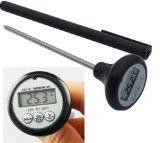 Digital Cooking Thermometer - Long Probe Great for Checking Temperature of Food, Meat, Candy, and Liquid - Good for BBQ, Grilling, Smoker, Oven or Deep Frying - WATER RESISTANT - WATERPROOF - Comes with Hard Pen Case - Best Lifetime Guaranty -