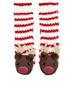 174f682e03a0 Accessorize - Reindeer Slipper Socks. Was £18