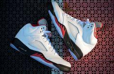 """Release Date: Air Jordan V (5) Retro """"Fire Red"""""""