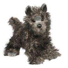 Hazel the Stuffed Cairn Terrier Puppy Dog by Douglas Cairn Terrier Puppies, Terrier Breeds, Dog Bread, Realistic Stuffed Animals, Dog Ramp, Grey Dog, Raining Cats And Dogs, Yorkie, Cuddling