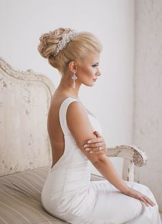 fancy #weddinghair ideas