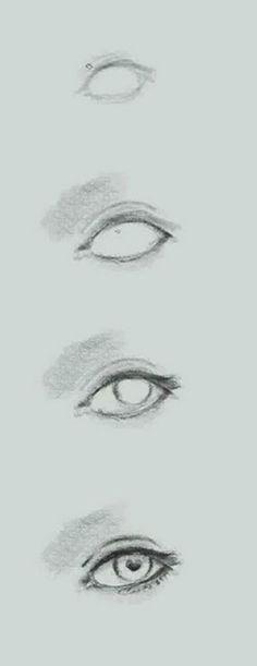 Beautiful eye sketch