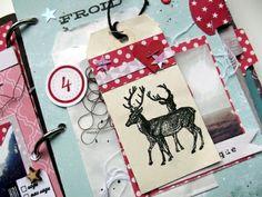 December Daily : jour 3 à 6 +  1carte