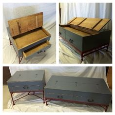 Blue Bird Coffee Table With Storage