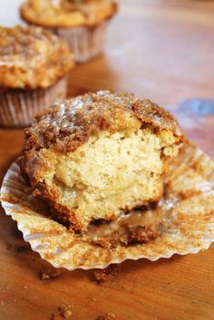 Cinnamon crumble apple muffin: Know what I'm making my boyfriend for valentines day!