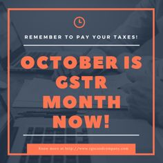 October is Tax Month Now! – Social Media by RGSC Chartered Accountants via @ http://www.liveinfographic.com/ rgscfirm, September 25, 2017 at 02:35PM  - #Featured
