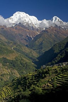 Napal Annapurna; photo by Walter Quirtmair