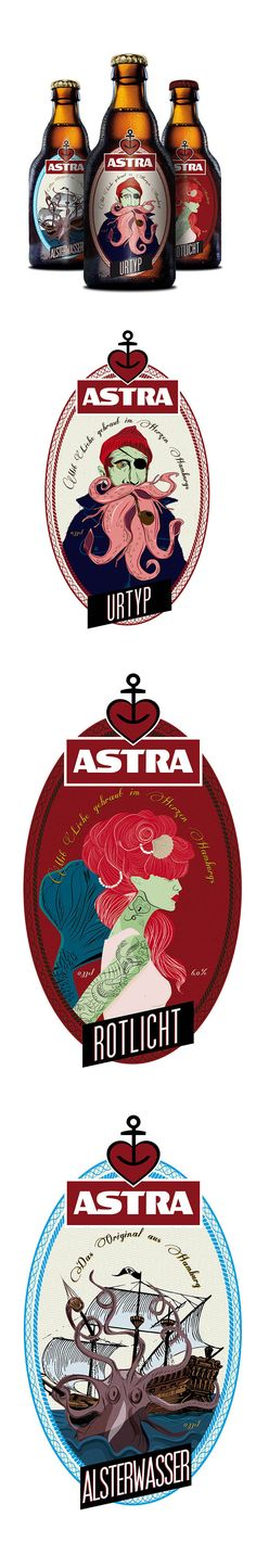 We just sell a variety of stock labels at Labels Zoo but we're happy to quote for any sort of label you need! Concept: Astra / #beer