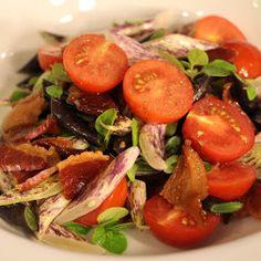 Terry McNeil - Google+ - Bacon Dragon Tongue & Royal Burgundy Beans, Tomatoes https://plus.google.com/u/0/116565300061740734711/posts/bJY9MWTQuJS