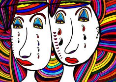 """""""Mother and Daughter"""" artwork by Marie Jamieson."""
