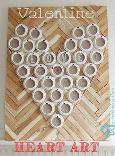 Remodelando la Casa: Valentine Heart Art