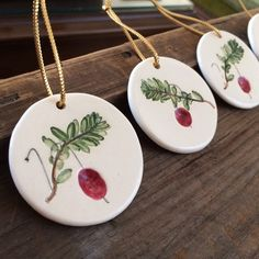 New Photographs Pottery Handmade kids Thoughts Cranberry Vine ORNAMENT, Cape Cod cranberry Ornament, ceramic Cranberry Ornament, Handmade Pottery, Salt Dough Crafts, Salt Dough Ornaments, Clay Ornaments, Handmade Ornaments, Christmas Tree Ornaments, Xmas, Angel Ornaments, Christmas Crafts For Kids, Homemade Christmas