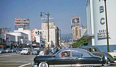Four Fun Friday Fifties Kodachrome Car Images