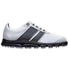 FootJoy Mens FJ Superlites CT /Black Spikeless Golf Shoes
