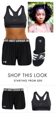 """Untitled #112"" by inasiamccullough on Polyvore featuring interior, interiors, interior design, home, home decor, interior decorating, NIKE and adidas"