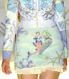 Mermaids go glam for Spring 2012~