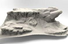 Rock/Terrain Speed sculpt studies, Jared Sobotta on ArtStation at https://www.artstation.com/artwork/ob46W